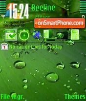 Vista Drops tema screenshot