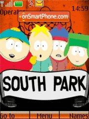 South Park theme screenshot