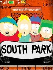 Скриншот темы South Park