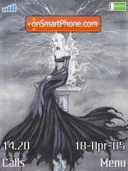 Black Fairy theme screenshot