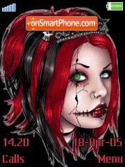 Dark Girl theme screenshot