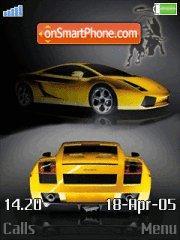 Lamborghini Yellow es el tema de pantalla