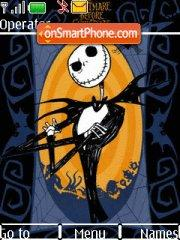 Скриншот темы The Nightmare Before Christmas