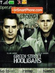 Green Street Hooligans theme screenshot