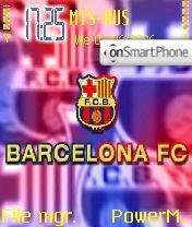 Barcelona FC theme screenshot