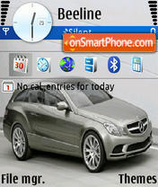 Mercedes 3252 theme screenshot