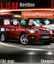 Bmw X6 05 theme screenshot