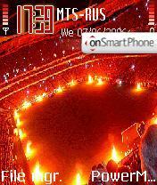 Benfica FC theme screenshot