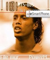 Ronaldinho 10 theme screenshot