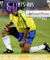 Ronaldinho 11 theme screenshot
