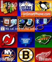 Nhl 01 theme screenshot