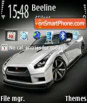 Nissan Gtr 01 theme screenshot