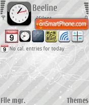 Скриншот темы Giphone