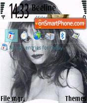 M.F. theme screenshot