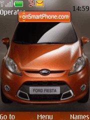 Ford Fiesta theme screenshot