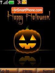 Halloween Pumpkin theme screenshot