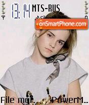 Emma Watson 06 theme screenshot