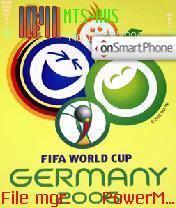 2006 Fifa World Cup Soccer theme screenshot