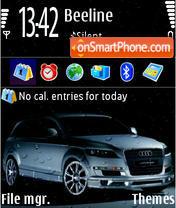 Audi Q7 05 es el tema de pantalla