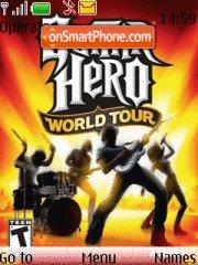 Guitar Hero World Tour theme screenshot