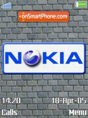 Скриншот темы Se Nokia