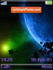 Blue Planet 01 tema screenshot