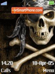Evil Skull 01 theme screenshot