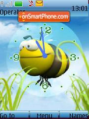 Скриншот темы Bee Clock