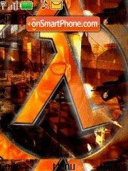 Half Life Logo theme screenshot