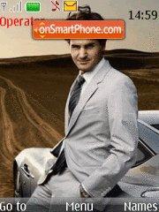 Roger Federer 01 theme screenshot