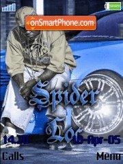 Скриншот темы Spider Loc G-unit