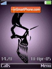 Skull Shadow theme screenshot