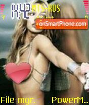 Le Britney theme screenshot