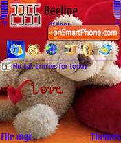 Teddy Bear Animated theme screenshot