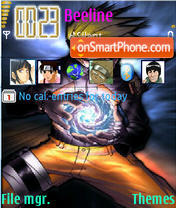 Naruto Rasengan theme screenshot