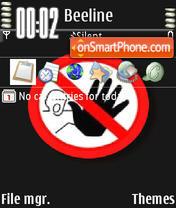 Capture d'écran Stop Animated thème