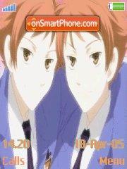 Ouran High School Host Club- Hitachiin brothers es el tema de pantalla