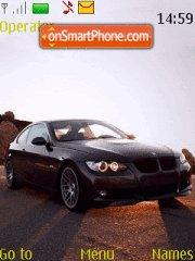 BMW in Mountain tema screenshot