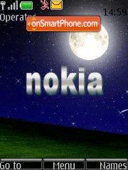 Nokia Night theme screenshot