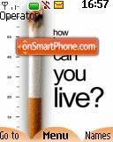 Stop Smoking 01 es el tema de pantalla
