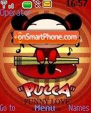 Pucca Garu theme screenshot