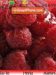 Скриншот темы Raspberry