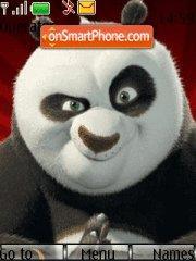 Скриншот темы Kung fu Panda