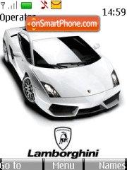 Lamborghini Slick tema screenshot