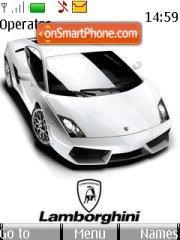 Lamborghini Slick theme screenshot