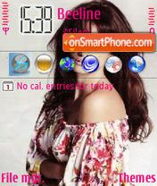 Penelope Cruz Pink theme screenshot