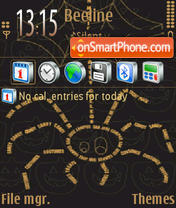Halloween 09 theme screenshot