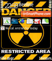Danger 04 theme screenshot