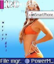 Anna Kournikova theme screenshot