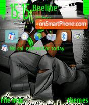 Grief tema screenshot